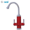 GWAI 3 Second Instant Water Heater Duel Handle With LCD Temperature Display Instant Hot Water Faucet Water Heating Tap DRS-X30F4