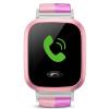 Маленький гений телефон смотреть Y01S светло-розовый детей умные часы 360 градусов безопасности защиты позиционирования мобильный телефон детский телефон смотреть детский мобильный телефон девушка телефон