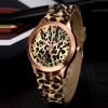 SHENSEE® 2015 новая мода женщин Женеве часы Леопард стиль желе гель Кварцевые аналоговые часы силиконовые наручные часы Бесплатная доставка