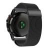 Миланская петля из нержавеющей стали для замены сетки браслет для Garmin Fenix 3 / Fenix 3 HR / Fenix 5X Smart Watch replacement silicone watchbands strap for garmin fenix 3 fenix 3 hr gps watch with tools smart wristband bracelet