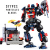 2018 New Transformers building blocks Bumblebee Optimus Prime Puzzle assembled toys Gifts for children 0367 sluban 678pcs city series international airport model building blocks enlighten figure toys for children compatible legoe