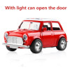 Cool Toy Car Die-casting alloy car back Sound And Light Toy Car Can Open The Door Car Styling Classic Cars Car model Kids Toys maisto car styling 1 18 scale diecast alloy model cars ford classic car models kids toys for boys children gift brinquedo