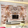 3D Stereo Relief Peacock Flowers Mural Photo Wallpaper Living Room TV Sofa Study Backdrop Art Wall Paper For Walls 3D Home Decor европейский стиль vintage wallpaper 3d stereo relief wood fiber mural кофейня ресторан заставка wall creative decor wallpaper