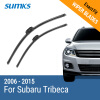 SUMKS Wiper Blades for Subaru Tribeca 26&20 2006 2007 2008 2009 2010 2011 2012 2013 2014 2015 2pcs set car styling auto led drl daylight car daytime running lights set for subaru forester 2009 2010 2011 2012