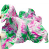 100% Шелковые поклонники танца живота Цвет градиента Аксессуары для танцев Шелковые поклонники танца живота Смешанные цвета обувь для танца живота jack dancer