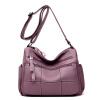 Сумки 2018 новых моде среднего возраста дамы сумка диких плеча Сумка Европы и США большой емкости мягкой PU большой мешок