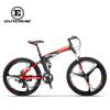 Eurobike 26 Складная горная велосипедная алюминиевая рама Shimano 21 Speed Полная подвеска Велосипед Daul Дисковые тормоза MTB