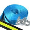 Вдоль автомобильной аварийной прицепной веревки 5 метров с отражающей полосой 5-8 тонн автомобилей внедорожников тяговый трос