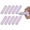 Fillinlight 10PCS Pack Светло-фиолетовый Прямоугольник зажигалка Shape USB Flash Drive USB 2.0 Pen Drive Flash Drive