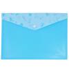 Miki (Sunwood) загрузка 12 A4 полупрозрачные красочные серии оснастки бумажных мешков / информационные комплекты C2385 синих Товары для офиса