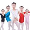 2017 Длинные рукава для девочек Купальник для балета Bodywear Stretch Spandex Dance Tights гимнастический купальник