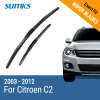 SUMKS Wiper Blades for Citroen C2 24&18 Hook Arms 2003 2004 2005 2006 2007 2008 2009 2010 2011 2012 2013 2014 2015 2016 2017 fxcnc aluminum motorcycle steering stabilizer damper mounting bracket support kit for yamaha fz1 fazer 2006 2015 2007 2008 09