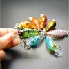 купить Vanker 4,5 см мини наживки ловить рыбу комплект рыболовные снасти crankbait приманки crank приманки комплект 2шт недорого
