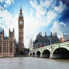Пользовательские 3D-обои для фотографий Британская колокольня Колокольня Церкви Гостиная Диван-телевизор Фон Обои на стенах Кровать Комната Mural Обои