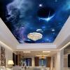 Пользовательский Любой размер 3D Обои для стен Обои Вселенная Звездное небо Дизайн Стена Картина Гостиная Потолочная роспись Фото Обои для стола 3D обои для стен в нижнем онлайн