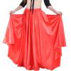 Профессиональная женская одежда для танца живота Полная юбка с атласной юбкой Фламенко Юбки Плюс Размерная юбка для танца живота женская одежда для спорта