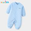 Модный облачный шаблон Romper для детской зимней теплой детской одежды Весна с длинным рукавом Boy Bodysuit Хлопок младенческой