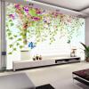 Пользовательские фото Wall Paper 3D Flower Vine Tree HD Большие обои для стен Обои Современная гостиная Спальня Нетканые обои rst rst 05303