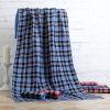 DD Dadong двойной хлопок плед шарф большое полотенце банное полотенце синий костюм DDWX040 клей активатор для ремонта шин done deal dd 0365