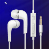 Mzxtby Earphone EHS64 Headsets Wired with Microphone for Samsung Galaxy S8 etc Official Microphone In-Ear awei stylish in ear earphone with microphone for iphone ipad more black 3 5mm plug