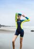 Women Snorkeling Diving Skin Suit Surfing Swimming Swimwear sbart lycra korean version diving suit woman long sleeve zipper sunscreen surfing snorkeling anti jellyfish swimming suit