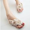 Женские сандалии flip shoes 2018 летние ботинки для женщин женские сандалии модные заклепки кристаллическая платформа женская студ