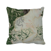 Beauty Vine Snake Chinese Style Watercolor Polyester Toss Throw Pillow Square Cushion Gift merry christmas grass cushion throw pillow case
