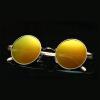 Роскошные новые алюминиево-магниевые сплавы Солнцезащитные очки Мужчины и женщины Бренд-дизайнер Путешествия Вождение зеркало Солнцезащитные очки Мужчины Oculos Gafas