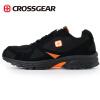 Мужская обувь, спортивная обувь CROSSGEAR дышащей сетки обуви легких кроссовок M RSJD-1604801 темно-оранжевые 40 ярды противомоскитные сетки