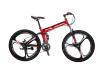 Eurobike 26 Складной горный велосипед Shimano 21 Speed Дисковый тормоз Полная подвеска MTB Складные колеса Mag Blue / Red / Army Green
