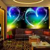 Пользовательские обои 3D Mural Современные простые персонажи Love Heart Dreamland KTV Bar Декоративные обои для рабочего стола Обои для стен 3d высококачественные пользовательские 3d обои для обоев для спальни 3d ландшафт для сада и сада