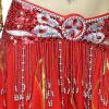 2018 Новый костюм для танца живота Ручная работа с блестками Пояса для талии Брюки для танцев живота для женщин в продаже 11 цвето пояса для подтягивания с отягощением