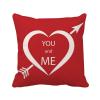 день святого валентина - красно - белые тебя и меня площадь бросить подушку включить подушки покрытия дома диван декор подарок интерьер и декор