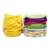 Карманные подгузники для ткани с размерами вставки Один подгузники Водонепроницаемые моющиеся подгузники для младенцев 3-15 кг