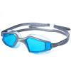 Очки Speedo для купания Мужчины и женщины Большие коробки HD Туманные плавательные очки IQfit Soft Comfort Wide View 809798-A259 Синий / Темно-серый горка для купания эльфпласт цвет синий