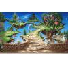 Фотообои 3D Стерео Мультфильм Сказка Замок Mural Детская комната Гостиная Парк аттракционов Заставка Стена Картина Fresco