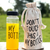 Очистить мою бутылку спорта фруктовый сок воды Кубок Портативный бутылка путешествия 500ML с сумкой monbento оригинальный красочный портативный перенесенных спорта бутылка 500 мл бутылка розового 101 101 006