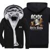 Новый дизайн AC DC Bell Skull Mens Hoodies Я получил свой колокол Собираюсь принять Ya To Hell Thicken Zipper man hoodies sweatshi мультиметр uyigao ac dc ua18