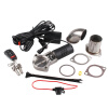 Ryanstar Universal 2 2.5 3 Electric Stainless Exhaust Pipe Exhaust Cutout Cut Out Kit with Gear Driven Motor oil pump oiler kit with worm gear springchainsaw 034 036 ms360 worm