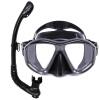 Кит бренда Высокое качество дайвинга Маска Snorkel набор с широким видом подводного плавания дайвинг маска и snorkel набор набор для дайвинга маска трубка scubapro phoenix ii