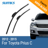 SUMKS Wiper Blades for Toyota Prius C 26&15 Fit Hook Arms 2012 2013 2014 2015 wiper blades for toyota prius 26