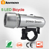 Bike Bicycle 5 LED Power Beam Front Cycling Light Bike Head Light Bike Accessories 5 LED Headlight Headlamp Headtorch Energy Savin bike cycling light 3 modes usb rechargeable led bike bicycle cycling light headlight lamp torch for bike a1