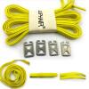 JUP 12 пар Lazy Not Tie Shoelaces Metal Fashion Простые высокие эластичные кружева Взрослые детские замки Кроссовки No Knots Laces