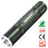 UV LED Flashlight Purple White Light Double Lights Olight Rechargeable Torch for Identification Jewelry Catch Scorpion white purple yellow light led flashlight stainless steel torch 18650 rechargeable uv torch olight jade identification page 3