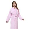 Хлопок Вафельный халат Женщины Мужчины махровые Женская банная халат с поясом ночной рубашки кимоно халаты длинный мягкий домашний отель лето халаты банные lelio халат