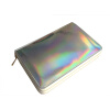 Фото 96 слотов Ножницы для тиснения пластинчатого держателя Корпус Rainbow Laser Manicure Nail Art Organizer с двойными молниями persian art