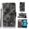 Mzxtby Flip Leather Wallet Case Cover Роскошная тонкая кожа PU Защитная крышка для Sony Xperia X Compact Vintage Case mpero flex flip wallet case for sony xperia z3v