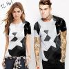 Мода Мужчины / Женская футболка 3d Print Designed Stylish Summer T shirt Brand Tops Tees футболка женская roxy boyfriendstella j tees blue print