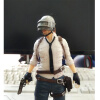Playerunknowns Battlegrounds PUBG Around 6 inch doll figure spot to eat chicken tonight Metal Fashion Car Weapon model 1 6th scale female figure doll collectible model plastic toys princess knight 12 action figure doll