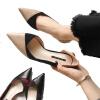 шов с высоким каблуком с 3-сантиметровыми туфлями для мелких женщин lacywear h 34 sov